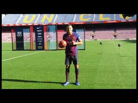 Barça: Presentación de Jeison Murillo