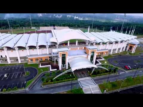 Dji Phantom3 Pro Aerial Videography UTM SKUDAI Stadium and Swimming Pool