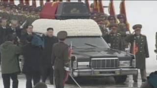 Kim Jong-il's funeral - no comment