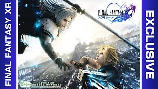 Cloud Strife VS Sephiroth, an epic battle taking place right before...