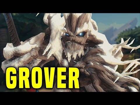 Heals! Anti Heals! Overtime! | Paladins Grover The Wild Gameplay