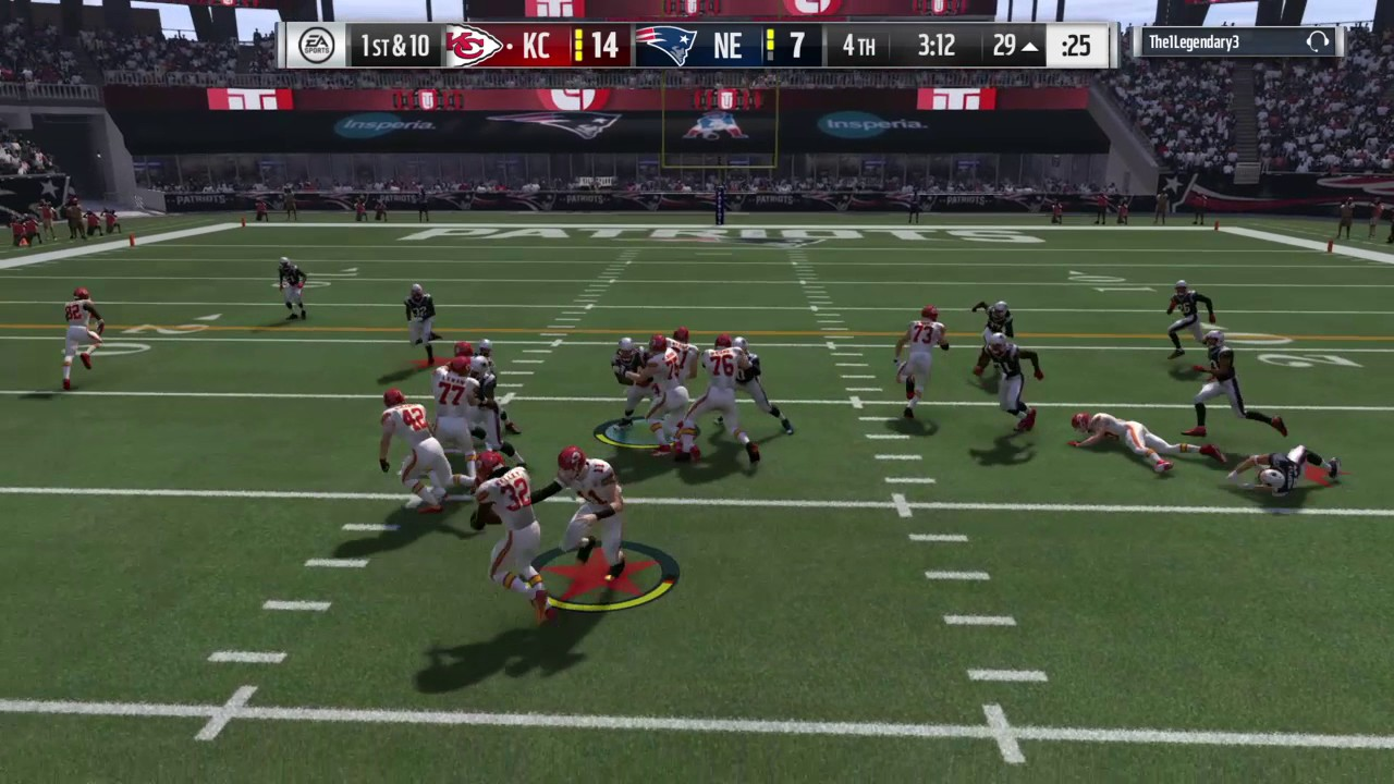Madden 08 pc game controls
