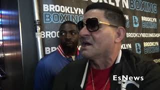Angel Garcia On Beef Between Danny & Terrence Crawford EsNews Boxing