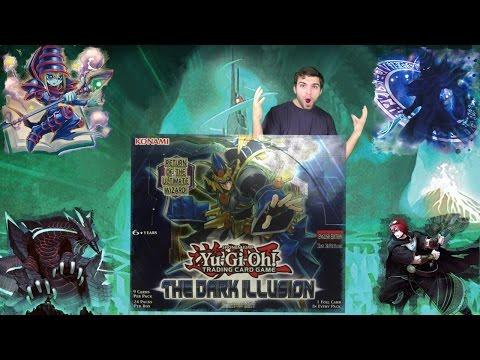 Best Yugioh The Dark Illusion Booster Box Opening! Return of Dark Magician, Beware of Hidden Terror!