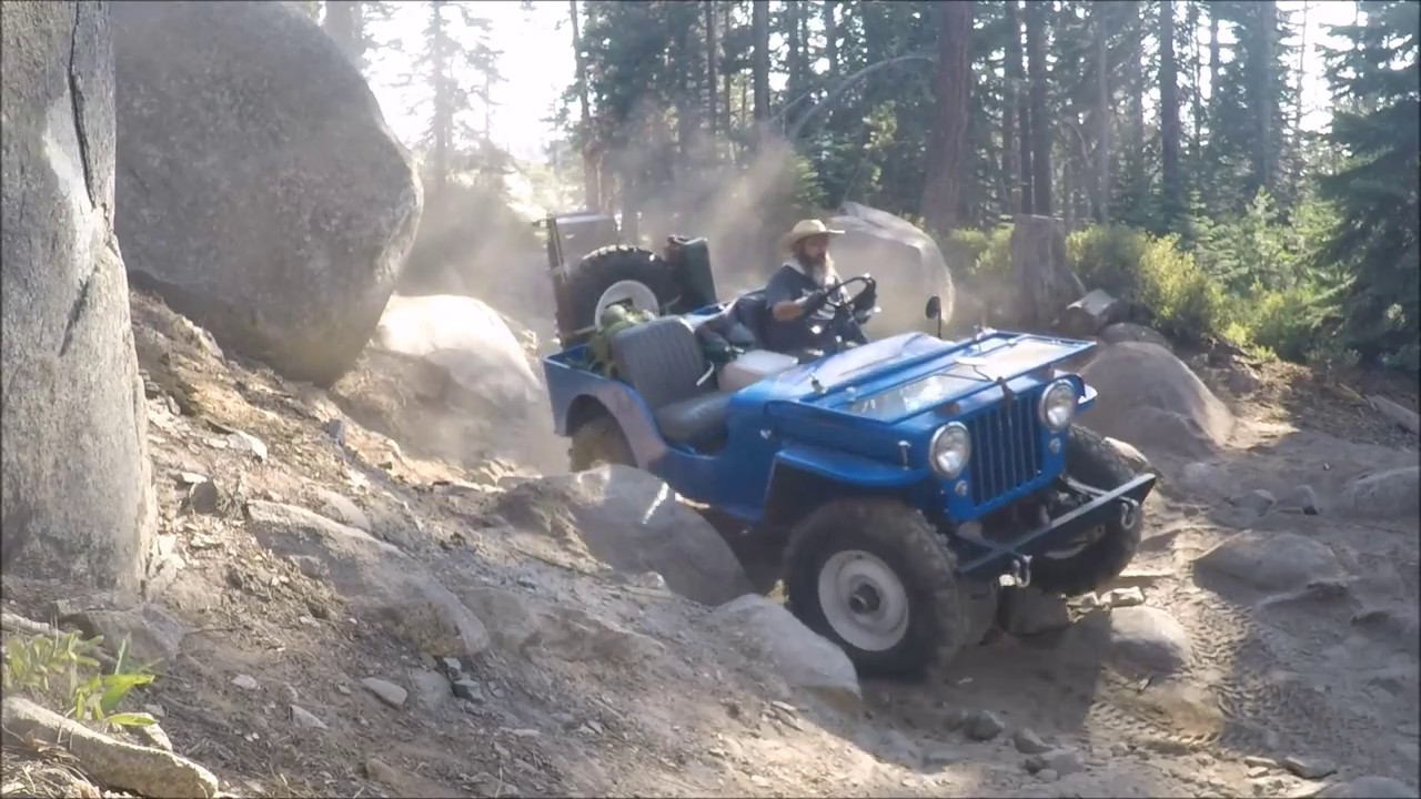 Flat Fender Jeep >> Willys Flatfender Jeeps On The Rubicon 2017 Day 1 Youtube