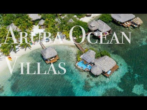 4k UHD Footage - Aruba Ocean Villas - Cinematic Drone Film