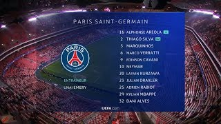 Nouvel habillage TV | UEFA Champions League 2018/2019