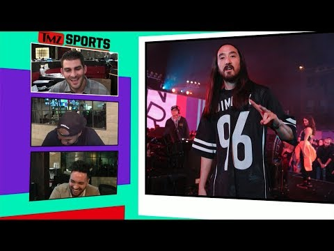 "Steve Aoki Hit In Nuts Filming ""It's Time"" Music Video 