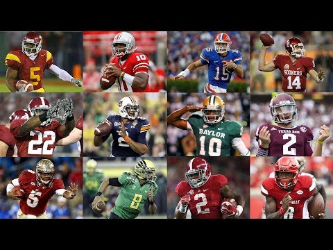 "The ""Heisman Moment"" of Every Heisman Trophy Winner Since 2005"