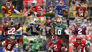 "The ""Heisman Moment"" of Every Heisman Trophy Winner 2005-2016"