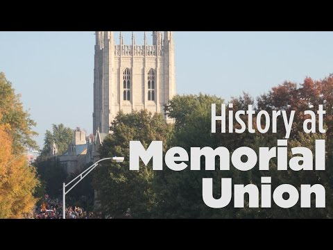 History at Memorial Union