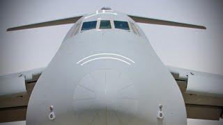 美國空軍現役最大最強的戰略運輸機 C-5M超級銀河 美军以强大实力 全球排名第一