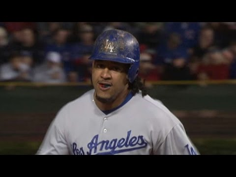 2008 NLDS Gm2: Manny's solo homer in 5th