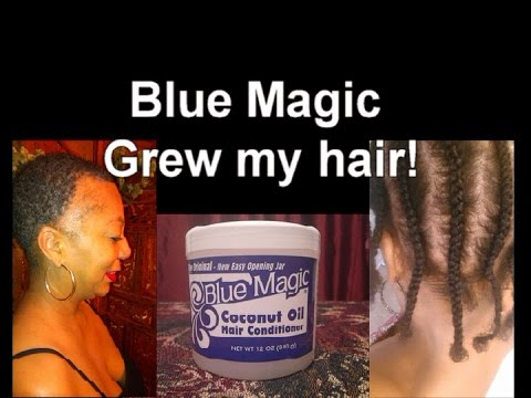 Blue Magic Coconut Oil Condition Grew my Hair! Product revie