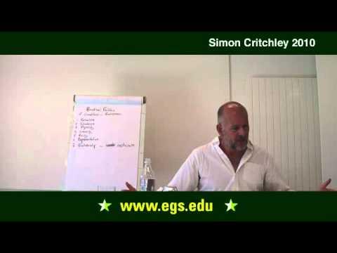 Simon Critchley. Politics, Subjectivity, and Badiou. 2010