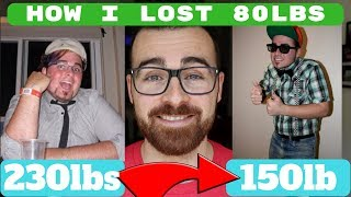 HOW I LOST 80lbs | HOW TO LOSE WEIGHT AND KEEP IT OFF |