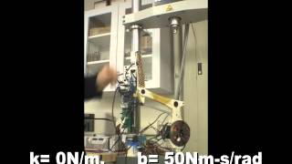 connectYoutube - Impedance control of MIT Cheetah leg