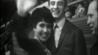 Ludmilla Pakhomova & Alexander Gorshkov 1968 European Figure Skating Championships FD