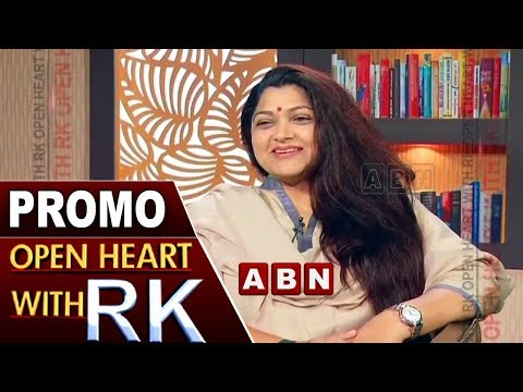 Actress Turned Politician Kushboo | Open Heart With RK | Promo | ABN Telugu