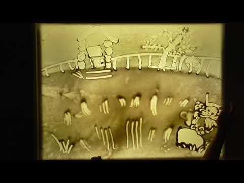 Рисование песком Репка