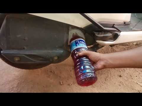 How to change engine oil in honda activa 3g....