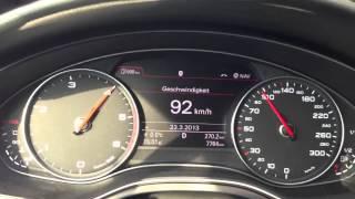 Audi A6 2 0 TDI 177PS Multitronic 0 120 Km H