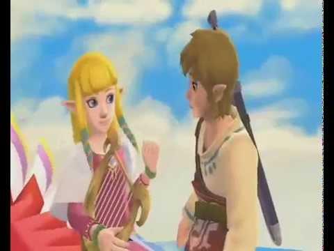Link e Zelda - Story Love (The Legend Of Zelda Skyward Sword)