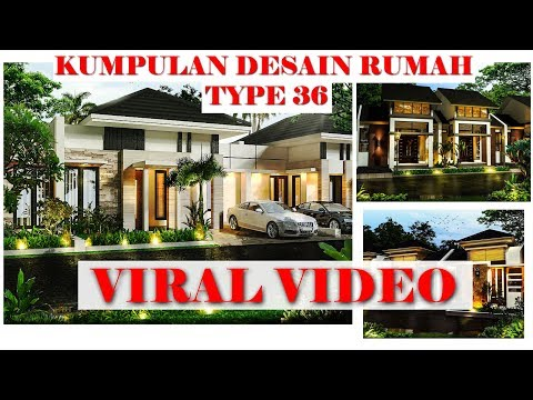 Minimalist Type 36 latest home design 2018 can be a reference Loh