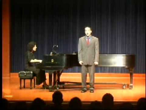 Nathaniel Adams, Tenor, sings Psalm 148 by Ned Rorem
