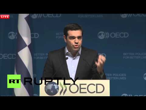"""France: Greek PM Tsipras Blasts Austerity, Says """"enough Is Enough"""""""