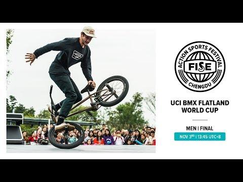 FISE CHENGDU 2019: UCI BMX Flatland World Cup Men Final