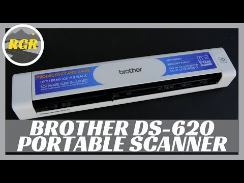 Brother ds 620 mobile scanner doovi for Brother ds 820w wireless mobile color page scanner