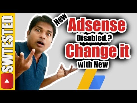 How To Change and Replace Old Adsense Account with New One on YouTube in Hindi