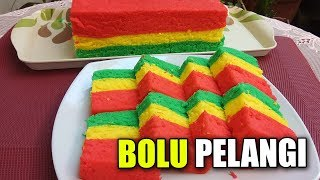 RESEP BOLU PELANGI JADUL   By Yani Cakes #103
