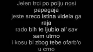 DJ Krmak & Reni - Papagaj (Lyrics)