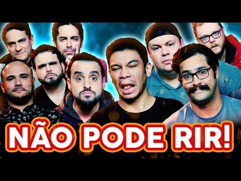 NÃO PODE RIR com PÂNICO Rogério Morgado Igor Guimarães Vinheteiro e André Pateta