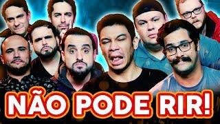 NÃO PODE RIR! com PÂNICO (Rogério Morgado, Igor Guimarães, Vinheteiro e André Pateta)