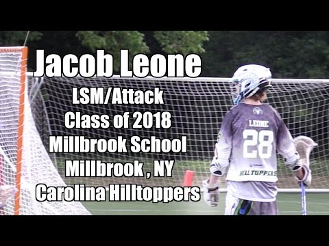 Jacob Leone A/LSM Class of 2018 Millbrook School - Millbrook , NY