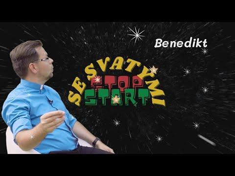 Stop Start se svatými   BENEDIKT   P. Roman Vlk