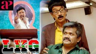 Media tries to prove JK Rithesh as woman   LKG Tamil Movie Scenes   Tamil Comedy Scenes 2019