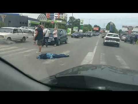 ДТП в Ужгороді на пішоходному переході