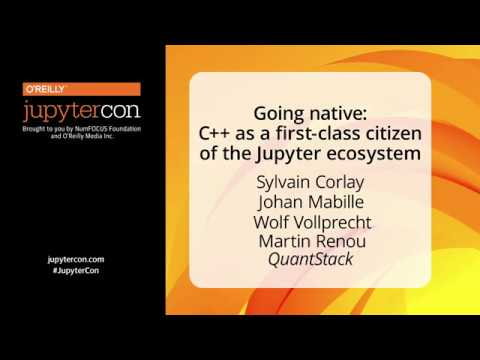 Image from Going native: C++ as a first-class citizen of the Jupyter ecosystem