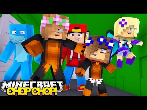 Minecraft CHOP CHOP - LITTLE KELLY GETS CHOPPED IN THE LITTLECLUB H.Q - Donut the Dog Minecraft