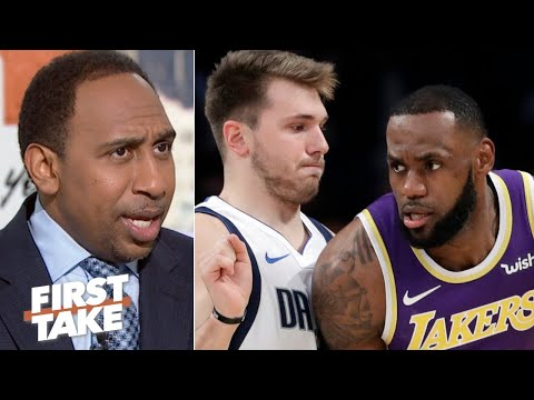 Why Stephen A. refuses to compare Luka Doncic to LeBron James   First Take