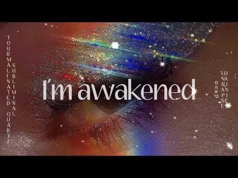 🍄|| Tourmalinated Quartz (Spiritual Awakening & Protection) {963Hz}  snblıɯınɐl