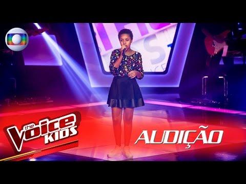 Kailane Muniz canta 'Versos Simples' na Audição – The Voice Kids | 2ª Temporada