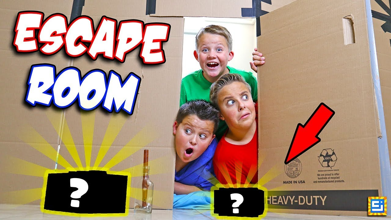 24 Hours Surprise Mystery Escape Room Giant Box Fort Ch