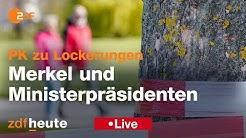 PK Merkel und Ministerpräsidenten zu Corona-Lockerungen
