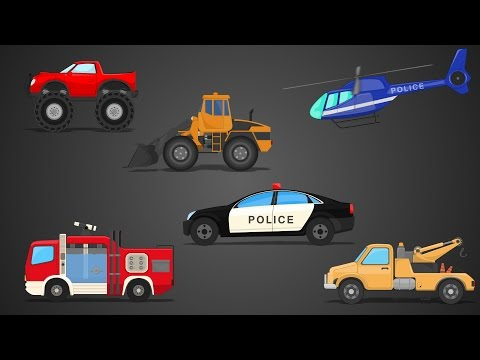 Learn Street Vehicles | Vehicles Series | Compilation