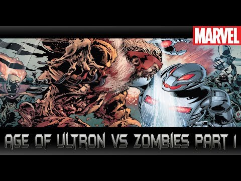 ศึก Ultron ปะทะซอมบี้ [Age of Ultron vs Marvel Zombies part 1]comic world daily